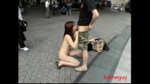 Japan Public Slut Blowjob