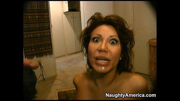 Ava Devine giving a rimjob for a facial