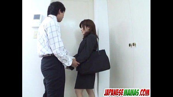 Outdoor cock sucking experience for Kana Shimada