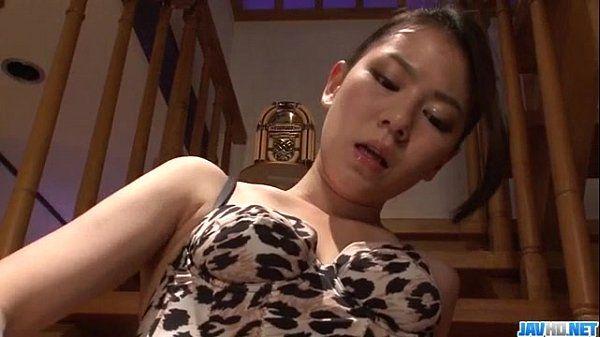 Lingerie model Kei Akanishi deals cock like a goddess