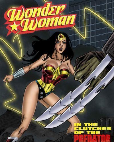 Matt Johnson Wonder Woman vs Predator Ch. 1-3