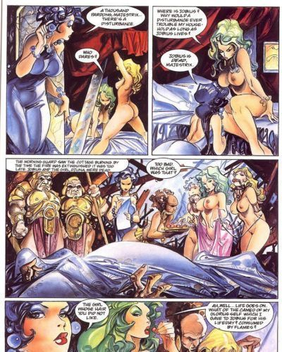Penthouse Comix #5: Bethlehem Steele 4 - Beth on the Block - part 2