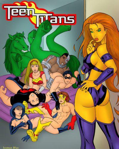 Iceman Blue Sex Education (Teen Titans)