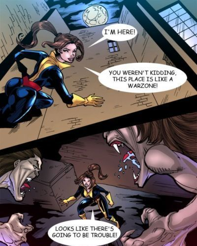 Una Mujer Studios Comic Parody (X-Men) Updated - part 4