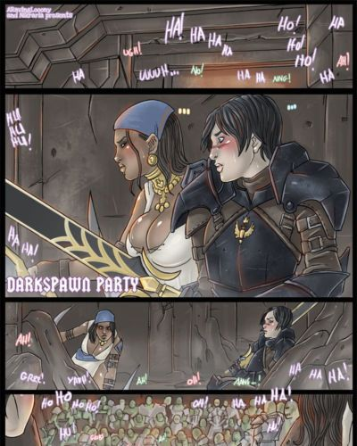 Nikraria Darkspawn Party (Dragon Age)