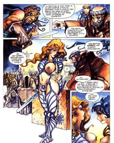 Penthouse Comix #5: Bethlehem Steele 4 - Beth on the Block - part 3