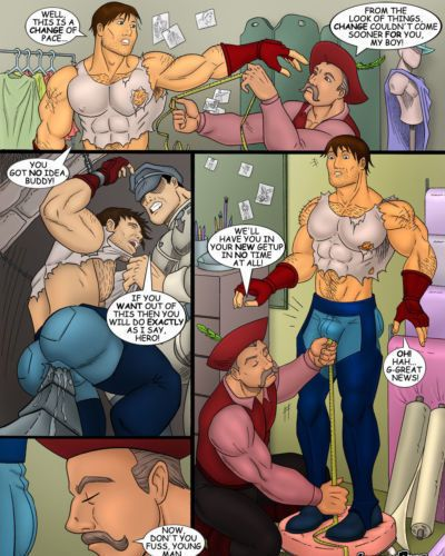 肌肉色情漫画