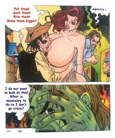 Milf karikatür seks