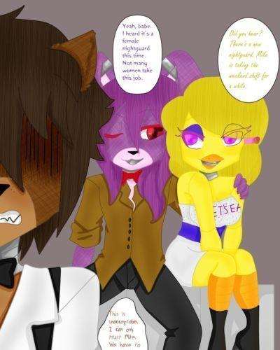 DiscordMelody Night 1: Bonnie x Jasmine (Five Nights At Freddy\
