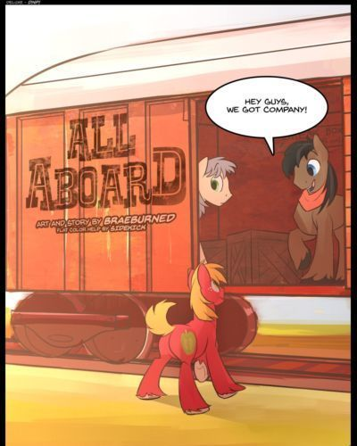 Braeburned All Aboard (My Little Pony: Friendship is Magic)