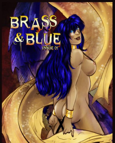 Moondai (Mallory Metzli) Brass & Blue (Dungeons and Dragons)
