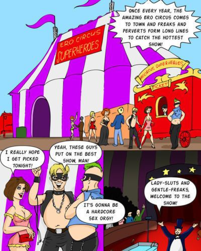 Online Superheroes Gotham Circus (Batman)