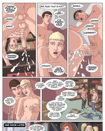 Bang Hard Ben - Parts 6-10 Twinks Gay Patrick Fillion Class Comics Studs Hunks - part 2