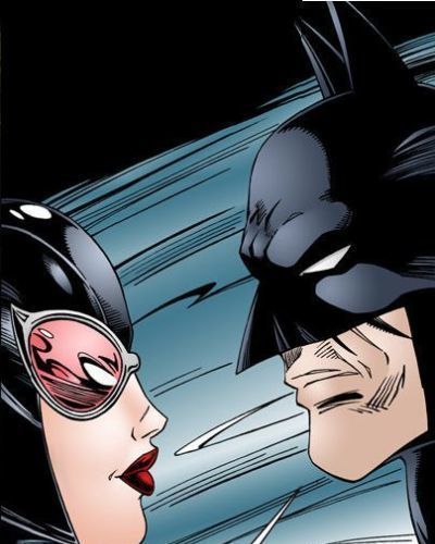 Batman Interrogates Catwoman