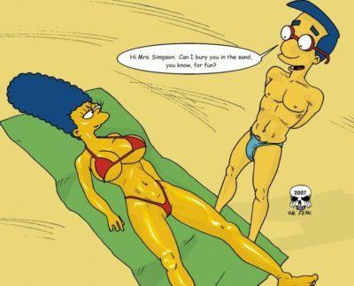 The Fear Beach Fun (The Simpsons)