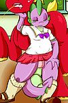 Saurian Spike: School Girl Outfit (My Little Pony: Friendship is Magic)