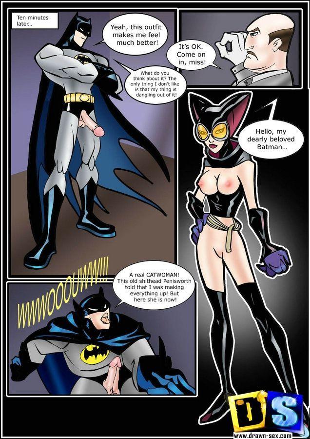 Drawn Sex Batman