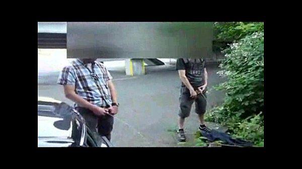 caught pissing guys