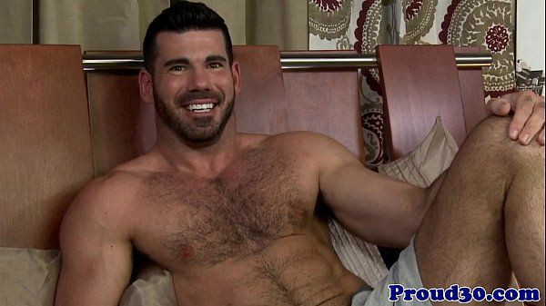 Gay hairy mature interviewed and fuckedHD