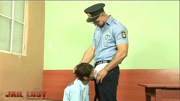 Cute though very bad boy fucked by brutal gay cop