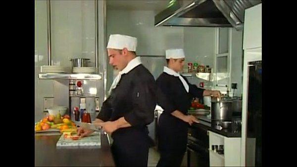 cocineros se Dan bien duro