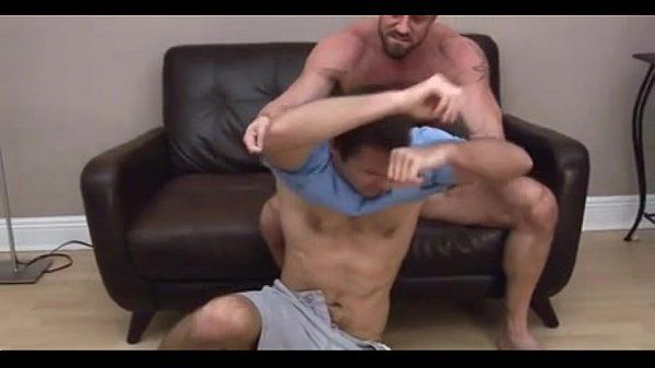 Dad and Son have sex in the Couch
