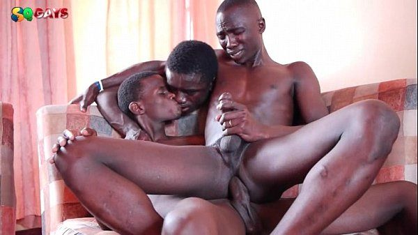 Black African Awesome Threesome