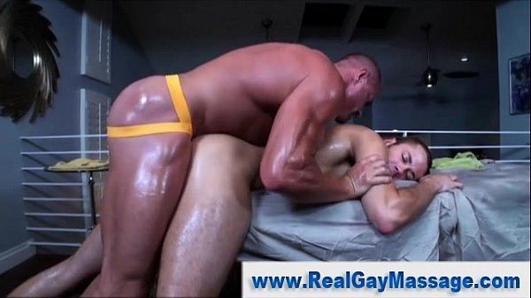 Straight guy gay masseuse ass fuck handjob cumshot