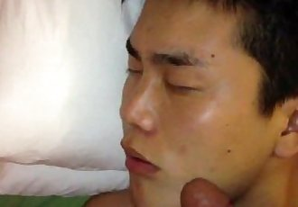 chinese guy drunken caress