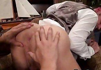 Hot Eating Bubble Ass