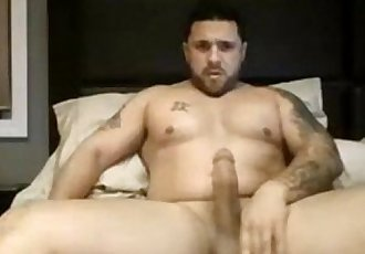Bear muscle big dick