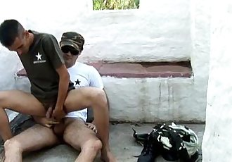 My Commanding Officer Let Me Suck His Cock And Fuck My Ass
