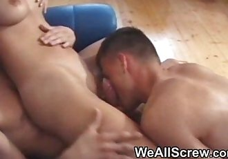 Teen bisexual threesome