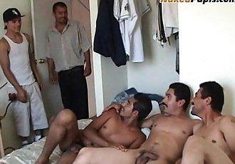 Bilatin Men Suck Each Others Meaty Cocks
