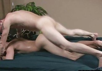 Straight hunk getting his tight ass fucked for cash