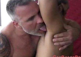 Big hairy bear dicks in action