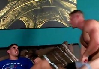 Muscle jock hunks gay ass fucking action