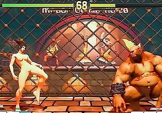Street Fighter V Sexy Battles #6 Juri vs Birdie