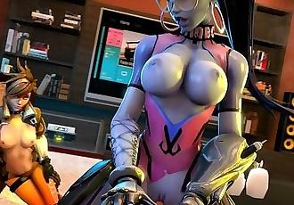 Overwatch Widowmaker POV Tracer with sound
