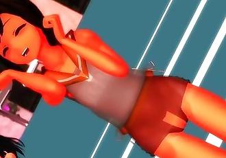3D MMD Kimagure Mercy - 5 Kancolle Ladies