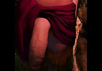 Taker POV Futa Succubus from The Witcher.
