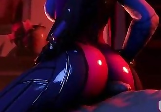 Overwatch - Widowmaker Buttjob