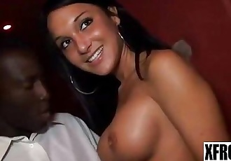 XFROZEN Interracial Fucking Hot Teen Part 1 - 2 min
