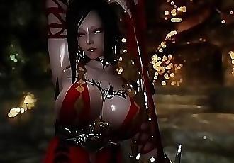 3D Hentai Skyrim adventurer get Fucked 10 min 720p