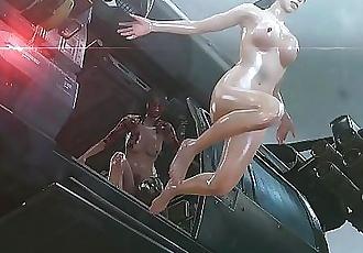 MGSV Quite Nude Mod Rain Dance Scene 7 min 720p