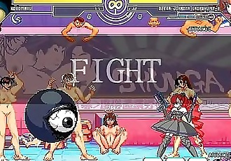 Mugen: Karumaru VS, Luna, Petra, Kasumi, Storm 7 min