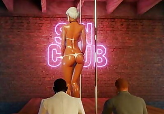 3D Hentai Stripper Threesome inGame