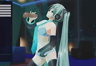Vocaloid Hentai - Hatsune Miku fucks + anal