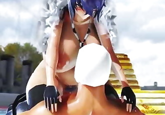 MMD SEX OPPAI Kancolle Tenryuu - Inferiority