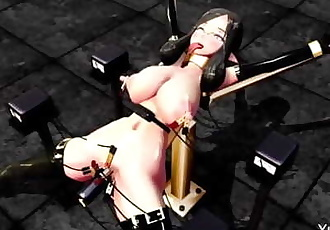 MMD SEX Punishment Training By Dungeon Mistress
